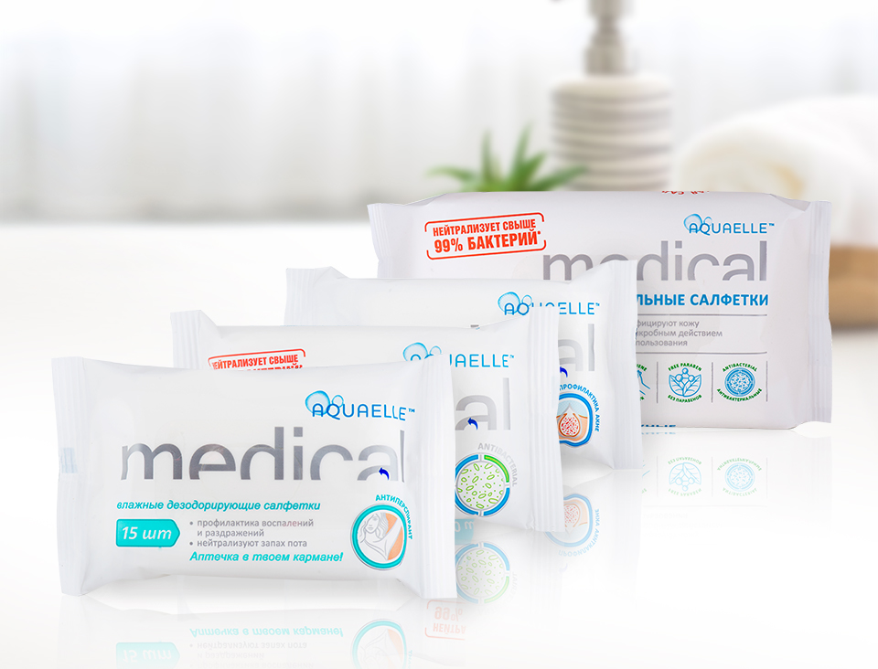 Aquaelle Medical - First Aid Kit in Your Pocket