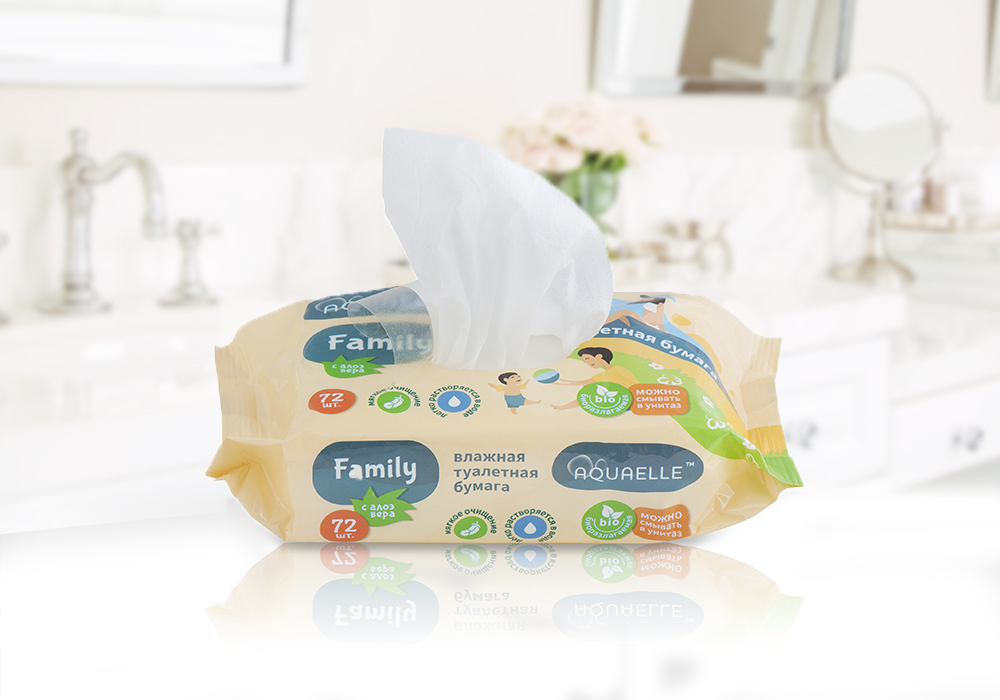 New product in the Aquaelle wet wipes line